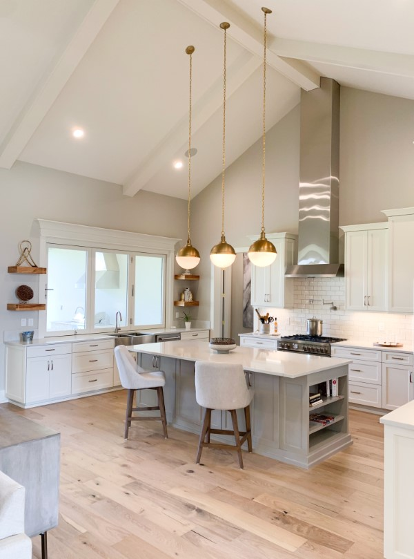 kitchen in home built by Solis Builders, Carencro LA